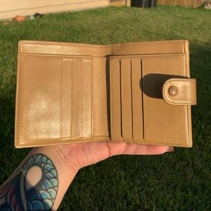CHANEL Bags - Authentic Tan Vintage Chanel Wallet